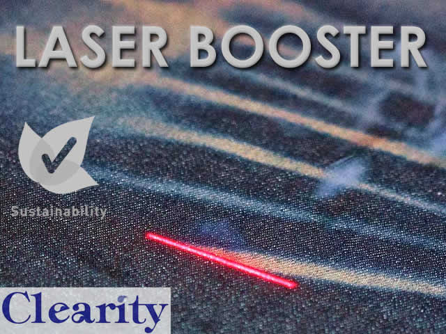 Clearity celebrates it´s new innovative chemical for denim industry: Laser Booster